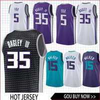 Wholesale fox clothing for sale - 35 Bagley III jersey Hornets Walker Williams Webber Fox basketball Jersey men clothes printed top quality