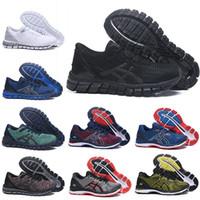 tejidos para negros al por mayor-2019 asics de calidad superior Gel-Quantum 360 GEL-Nimbus 20 para hombre Zapatillas SHIFT Estabilidad triple negro blanco Tejidos Buffer Athletic entrenadores zapatillas