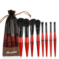 Wholesale girls gifts online - New set Makeup Brushes Set Powder Foundation Eye Shadow Eyebrow Make Up Brush Kits Girl Woman Gifts