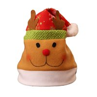 Wholesale pink tree pictures for sale - Group buy Christmas Hat Children Adult Christmas Party Fashion Dress Unisex up Cap As Picture