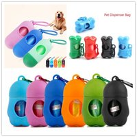 20 Styles Portable Pet Dispenser Bag Dog Poop Bag Garbage Case Carrier Holder Disposable Bags For Dogs Cats Outdoor Pet Supplies Refuse Bag