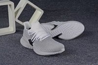 Wholesale pharrell williams human race nmd resale online - 2019 NMD Human Race Mens Running Shoes With Box Pharrell Williams Sample Yellow Core Black Sport Designer Shoes Women Sneakers