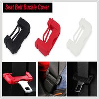 Wholesale mitsubishi asx car resale online - Car Safety Belt Buckle Covers Silicon Seat Protector for Mitsubishi ASX Endeavor Expo Galant Grandis Lancer Mirage Montero
