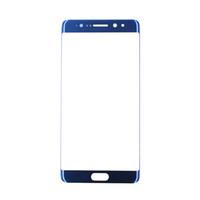 замена сенсорного экрана оптовых-Для Samsung Note 7 Оригинальное стекло Для Samsung Galaxy Note FE Вентилятор Editionfront стекло с сенсорным экраном замена края стекла