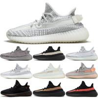Wholesale outdoor army shoes for sale - Group buy Kanye West Static Reflective Antlia Lundmark zebra Hyperspace True Form beluga v2 Men Triple Running Shoes Women Designer Sneakers