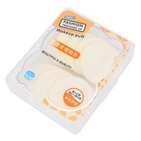 licuadoras usadas al por mayor-10pcs Cosmetic Puff Multi-propósito Wet Dry Use Puff polvo de maquillaje esponja licuadora