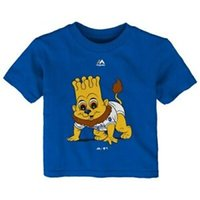 mascote real venda por atacado-T-shirt real infantil feito sob encomenda majestoso da mascote do bebê