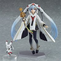 Wholesale miku toy figures for sale - Group buy 15cm Hastune Miku FIGMA Figure Snow Hatsune Witch ver Crane PVC Action Figures Joint movable Collectable Toys