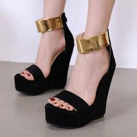 Women Black Wedge Shoes Australia | New Featured Women Black