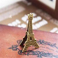 vintage romantische hochzeit dekorationen großhandel-Romantische Paris Thema Vintage Eiffelturm Tischkartenhalter Hochzeit Tischdekoration Gefälligkeiten Und Geschenken aa707-712 2017121906