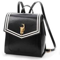 hermosos bolsos negros al por mayor-Charm2019 Beautiful Girl Soldier 20 Aniversario Negro Paquete de ambos hombros Bolso de estilo japonés
