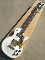Wholesale white guitar for sale for sale - Group buy Custom factory hot sale new white electric guitar with gold hardware mahogany custom color micro standard