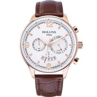 Wholesale 24 dial watch resale online - luxury watch mm big hour dial quartz watches man Wristwatch waterproof counter watches for men F