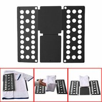 Wholesale clothes folder board resale online - Limit New Style T Shirt Top Clothes Folders Magic Folding Board Flip Fold Kids Laundry Organizer Solid Color Clothes Tools