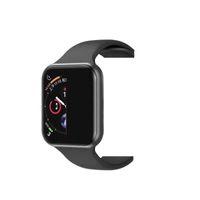 iwatch akıllı saat toptan satış-iphone iwatch iwo 8 9 akıllı izle 44mm serisi 4 1to1 bluetooth smartwatch kalp hızı montre spor saatler xiaomi goophone x samsung android