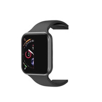 montres intelligentes pour enfants achat en gros de-iphone iwatch IWO 8 9 Montre intelligente 44mm Série 4 1to1 Bluetooth Smartwatch Fréquence cardiaque montre montres de sport Xiaomi goophone x Samsung android