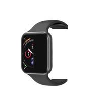 xiaomi teléfono gps al por mayor-iPhone iwatch IWO 8 9 Reloj inteligente Serie 44mm 4 1to1 Reloj inteligente Bluetooth Ritmo cardíaco montre Relojes deportivos Xiaomi goophone x Samsung Android