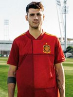 Wholesale spain morata jersey resale online - S XL Thailand Spain Jersey Home Soccer Jersey PACO ALCACER ASENSIO MORATA ISCO INIESTA THIAGO SAUL Adult man Sports Footba
