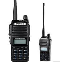 uhf rádio de banda dupla venda por atacado-2 pçs / lote walkie talkie BaoFeng UV-82 Dual-Band 136-174 / 400-520 MHz FM Ham em dois sentidos rádio transceptor walkie talkie
