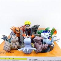 bonecas collectible da porcelana venda por atacado-Suzanoyoyland Made in China versão Naruto Q Infância Cauda Besta Venda Quente Ação Estatueta Boneca Presente Hobby Brinquedos Encaixotados Collectible