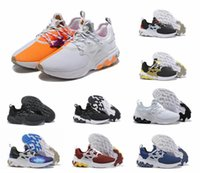farbe frauen männer laufschuhe großhandel-26 farbe Schwarz Weiß Reagieren Presto Männer Frauen Laufschuh Desig Psychedelic Lava Gelb Brutal Honey Prestos Breezy Thursday Sports Sneakers