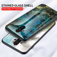 Wholesale phone nubia online – custom For nubia play mobile phone protective cover new Z17minis anti fall marble pattern tempered glass Z18mini designer phone case