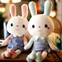 Wholesale new year pillow resale online - Cute Bunny Rabbit Rabbit Plush Toy Bunny Doll Big Sleeping Pillow gifts and boys Birthday Gift