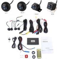 voiture dvr à distance achat en gros de-720P HD Voiture DVR Caméra 360 Système de Caméra Surround View Driving Recorder accessoires de voiture Télécommande En Métal