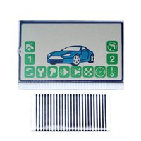 Wholesale car lcd cable for sale - Group buy 10pcs Russia version A92 Lcd display flexible cable for Starline A92 remote controller lcd Zebra Stripes car