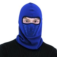 Wholesale bike head mask for sale - Group buy Yfashion Face Mask Outdoor Winter Warm Bicycle Face Mask Bike Skiing Windproof Thermal Polar Fleece Multi function Head Cap