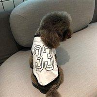 gato corgi venda por atacado-Queda pequenas e médias Dog Cotton e gato Teddy Bear Corgi Combate Logo Pet Popular T-shirt Fina Estilo