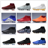 Wholesale cr7 ronaldo boots for sale - Top Superfly Phantom VSN Shadow Elite DF FG Mens Soccer Cleats Cristiano Ronaldo Neymar ACC Soccer Shoes CR7 Football Boots Scarpe Calcio