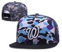 кожаные футбольные кепки оптовых-Бренд Моды Вашингтон Баскетбол Футбол Хип-Хоп Шляпы Женщины для Мужчин Бейсболки Snapback Спорт Кожаная Шапка