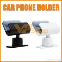 autohalter verpackung großhandel-Schwerkraft-Autotelefonhalter-Standplatz für iPhone Samsung-Auto-Entlüftungsöffnungs-Telefon-Berg-Universalhandy-Klammer mit Kleinpaket
