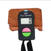счетчики счетчиков оптовых-Мини-маркер стежка и строка палец счетчик ЖК-электронный цифровой счетчик Tally для шитья вязание ткать инструмент плюс минус звук
