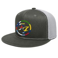 Wholesale mexico hats resale online - Foo Fighters Rainbow FF Unisex Flat Brim Trucker Cap Plain Hipster Baseball Hats Red heart logo design Mexico everlong stubhub songs