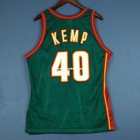 ingrosso jersey kemp-100% maglia cucita Kemp Sewn Away Champion Jersey M - maglia da uomo payton taglia XS-6XL maglie da basket cucite Ncaa