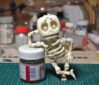 figuras adultas al por mayor-juguetes modelo GULUO figura Acition cráneo BJD juguetes para adultos del cráneo de DIY Conjunto de las muñecas de colección de modelo de juguete DiadelosMuertos hector