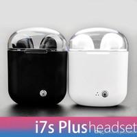 stereo steht großhandel-I7s 4.2 TWS headset wireless headset wireless sport mini headset TWS mit ladestation für Apple, Samsung, Android usw.