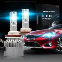 qualität h4 glühbirnen großhandel-2 teile / satz hohe qualität d1s d2s h4 h1 h3 h7 h11 9005 / hb3 110 watt 20000lm 6000 karat weiß auto led scheinwerfer kit nebelscheinwerfer scheinwerfer lampen