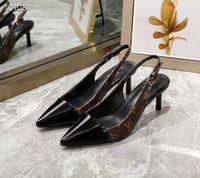 mode-designs brautkleider großhandel-aaAATOP Echtes Leder Markendesign Mode Frau High Heel Kleid Schuhe Party Mode Mädchen sexy Hochzeit Schuhe
