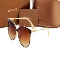 modische dame sonnenbrille großhandel-Sonnenbrillen für Frauen Fashion Sunglass Womens Luxus Sonnenbrille Trendy Woman Sunglases Damen Übergroße Designer-Sonnenbrille