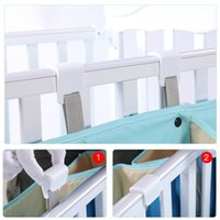 Wholesale green crib bedding sets for sale - Group buy Portable Baby Crib Organizer Bed Hanging Bag for Baby Essentials Diaper Storage Cradle Bag Bedding Set Diaper Caddy