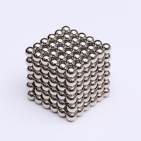 juego de cubos de juguetes al por mayor-216pcs / set de 3 mm mágico imán de neodimio magnético Bloques bolas Esfera diversión rompecabezas del cubo de Cuentas Juguetes de construcción