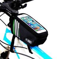Sacoche de Vélo MTB Sac Multifonctionnel Cyclisme Cadre Tube Télép Écran Tactile