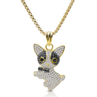 Wholesale gold bow tie necklace resale online - Cute Personality Bow Tie Cat Gold Silver Color Neutral Men And Women Pendant Necklace Copper Zircon Jewelry High Quality