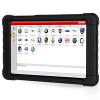 mitsubishi tablet venda por atacado-carryUCANDAS VDM V3.9 Wifi + Tablet OBD2 OBDII Carro Scanner de Diagnóstico Do Sistema Completo ferramenta