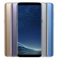 telefon nutzt sim großhandel-Original Samsung Galaxy S8 G955U G950U G950U 64 GB 6,2