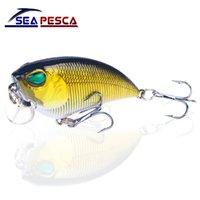 Wholesale minnow lure topwater resale online - SEAPESCA Topwater Minnow Fishing Lure cm g Wobbler Isca Artificial Hard Bait Fish Crankbait Carp Fishing Tackle JK512