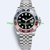 ingrosso orologi per l'immersione-2018 Basel World Luxury New GMT II Movimento automatico Acciaio inossidabile Dive Basel 40MM 116710 116710BLNR 126715CHNR Orologi da uomo